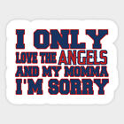 Los Angeles Angels vinyl sticker for skateboard luggage laptop tumblers car (c) on Ebay