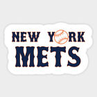 New York Mets vinyl sticker for skateboard luggage laptop tumblers car (a) on Ebay