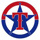 Texas Rangers vinyl sticker for skateboard luggage laptop tumblers car d on Ebay