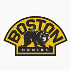 Boston Bruins Sticker for skateboard luggage laptop tumblers car c $7.99 USD on eBay