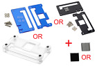 Acrylic Case Box Enclosure for Raspberry Pi Zero non-W Heatsink USA Comb Ship