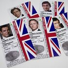 James Bond 007 ID Card, Sean Connery, Daniel Craig, Roger Moore, Timothy Dalton $17.55 USD on eBay