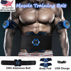 EMS Abdominal Muscle Training Gear Stimulator Toner-Core Toning ABS Workout Belt image