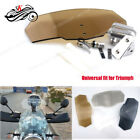 SK Motorcycle Accessories Airflow Wind Deflector Spoiler Windshield For Triumph $29.2 CAD on eBay
