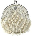 Women's Clutch Evening Party Prom Wedding Banquet Sequins Beaded Purse USA Stock