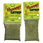 Yeowww 100% Organically Grown American Loose Catnip Bags Cat Treats 3 Sizes