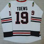 Jonathan Toews Premier Ice Hockey Jersey #19 Chicago BlackHawks white red S~XXXL $29.99 USD on eBay