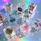 Eye shadow Color Makeup GLITTER Eyeshadow Pods Nail Nails Shimmer Metallic Body