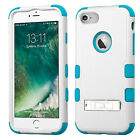 iPhone 8 7 Rugged Impact Protection Hard Cover Shockproof Case with Kickstand