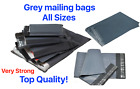 Grey Mailing Bags Strong Poly Postal Postage Post Mail Self Seal Mailer Bags