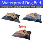 Wipe Clean Dog Bed Waterproof Washable Non Slip Base Pet Bed Cushion Durable