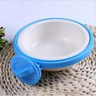 Bowls Fixed Dog Crate Cage Food Water Bowl Animal Feeder Bowl Supply C