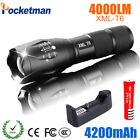 T6 LED Flashlight Outdoor Light Tactical Military Lamp 18650 Rechargeable torch
