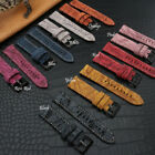 Quick Release 18 20 22mm Suede Leather Watch Band Strap For FOSSIL Q Smart Watch