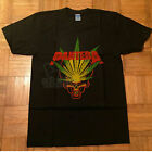 Vintage T Shirt 90's PANTERA Pot Leaf HEAVY METAL BAND Tour Concert 1997 REPRINT image