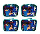 Disney Phineas and Ferb Insulated Lunch Bag - Agent P Lunch Box Tote Brand New