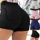Woman Sexy High  Denim Jeans Shorts Summer Casual Stretch Hot Short Pants