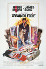 Live and Let Die James Bond (1973) Poster Reprint/Home Decor/Wall Decor/Wall Art $29.95 AUD on eBay