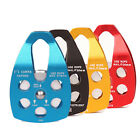 Climbing Rescue pulley Speed Drop tool Belt Lift Bearing Outdoor Accessories