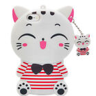 3D Cartoon Unicorn Cat Soft Silicone Phone Case Rubber Cover For Nokia 3 5 6 8