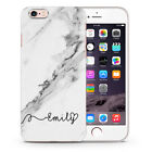 Personalised Rose Gold Marble Name Initial Custom Phone Case Cover iPhone Y29