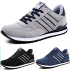 Mens Trainers Running Gym Fitness Shoes Mesh Sneakers Lace Up Breathable New