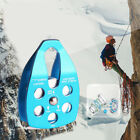 Climbing Rescue pulley Speed Drop tool High Altitude Belt Accessories Fixture