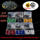1 Set Fairing Bolt Kit Motorcycle Screw Clips For Triumph Tiger 1050 2007-2012 $27.99 USD on eBay