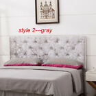 Upholstered King/Queen/Twin Size Headboard Button Tufted Adjustable Headboards