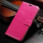 For Samsung Galaxy J4 Plus J6 PLUS Leather  Flip Wallet Card Holder Case Cover