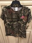 MOSSY OAK Break-Up Infinity Short Sleeve Ladies CAMO T-Shirt
