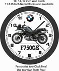 2019 BMW F750GS MOTORCYCLE WALL CLOCK-TRIUMPH, DUCATI, HONDA $28.99 USD on eBay