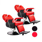 2X Heavy Duty Hydraulic Recline Barber Chair Salon Beauty All Purpose Equipment