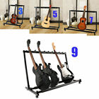 Multiple Guitar Holder Rack Stand 3/5/9 Guitars Triple Folding Organizer Stage