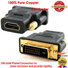 COMPUTER LAPTOP TV HDMI to DVI VIDEO CABLE HDTV HD LEAD PICTURE FROM PC TO TV US
