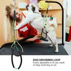 Pet Dog Cat Grooming Table Arm Bath Adjustable Double Noose Loop Ropes