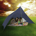 OUTAD 3x4 Meters Ultra-light 40D Silicon Coating Sun Shade Sail for Outdoor WD