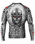 Raven Fightwear Men's Norseman MMA BJJ Rash Guard White