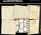 """12"""" Scrapbook Paper Genealogy HERITAGE Generations Chart Note Card Family Name"""