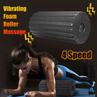 Electric Rechargeable Vibrating Foam Roller Massager Fitness Muscle Pain Relief image