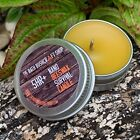 NANO 100% NATURAL BEESWAX EMERGENCY SURVIVAL CANDLE BUSHCRAFT 5+ HOUR BURN TIME