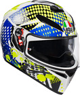 AGV Adult K-3 SV POP Full Face Motorcycle Helmet Sport Touring DOT ECE 2019