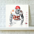 Kansas City Chiefs Eric Berry HD Print Oil Painting Art on Canvas Unframed $12.0 USD on eBay
