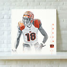 Cincinnati Bengals Aj Green HD Print Oil Painting Art on Canvas Unframed $12.0 USD on eBay