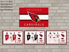 HD Print Oil Painting Home Decor on Canvas Arizona Cardinals 4PCS/SET Unframed $36.0 USD on eBay