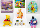 PELUCHE WINNIE THE POOH DISNEY ACTION FIGURE ACCESSORI ZAINO TAZZINE E GADGET