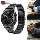 Stainless Steel Metal Watch Band Strap For Samsung Gear S3 Frontier/Classic US image