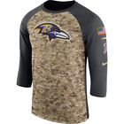 Baltimore Ravens Salute to Service 3/4 Sleeve T Shirt on eBay