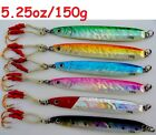 Qty 2 Knife Jigs 5.25oz/150g Vertical Butterfly Fishing Lures Choose Colors