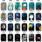 Внешний вид -  Luggage Suitcase Protective Cover Bag Elastic Dust-proof Case Protector 18-32''